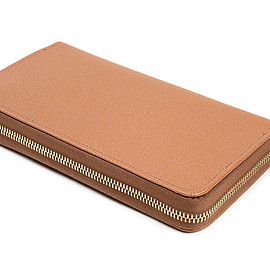 Whitehouse Cox - LOFTMAN別注 Zip Round Wallet-Tan×Antique