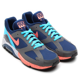 Nike - Air Max Terra 180 -  Brave Blue/Atomic Pink/Light Graphite Heather/Black