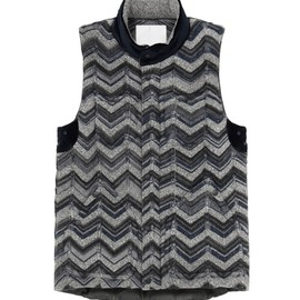 White Mountaineering - Windstopper knit down vest