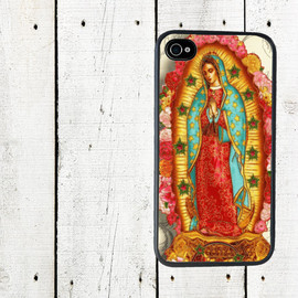 Virgen de Guadalupe iPhone Case - iPhone 4 Case - Virgen de Guadalupe iPhone Case - Cell Phone Case - iPhone 5 Case - Gifts Under 25