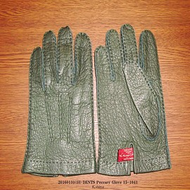 DENTS - Peccary Glove 15-1041 Color.Hunter(Green)