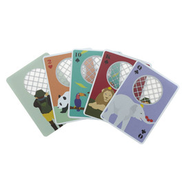 Zoo Playing Cards