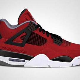 Nike - NIKE AIR JORDAN IV FIRE RED/WHITE-BLACK-CEMENT GREY