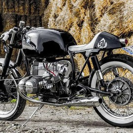 Retro Custom Bikes 5V - Benqueen BMW R 100 RS  1977
