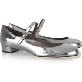 miu miu - Patent-leather Mary Jane pumps