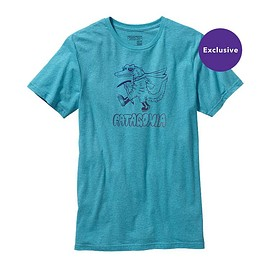 patagonia - Men's Super Gator Revisited Tri-Blend T-Shirt - Ultramarine