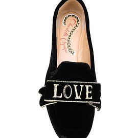 Charlotte Olympia - Black Love Loafers