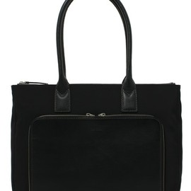 Paul Smith - TRICOLORED BUSINESS TOTE BAG