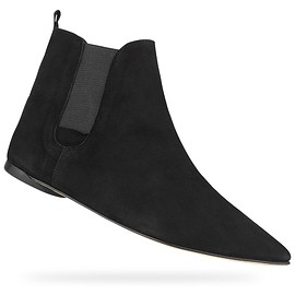repetto - Clark anckle boots Black Goatskin suede
