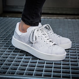 adidas - Stan Smith Bold W (white / grey)