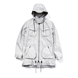 White Mountaineering - PERTEX E/W VIYELLA MIDDLE JACKET