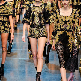 Dolce & Gabbana - Fall 2012 Ready-to-Wear