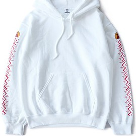 TOGA ODDS&ENDS - Print Sweat Parka (white)