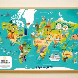 The Monocle Shop - Second Edition: World Map Print