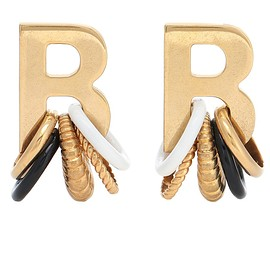 BALENCIAGA - B earrings