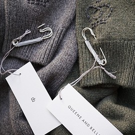 QUEENE and BELLE - LISE CASHMERE SWEATER
