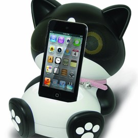 Cat Speaker Docking Station for iPod and iPhone