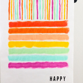 Oh Happy Day! - diy happy birthday poster
