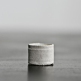 Detaj - Bandage Ring - White