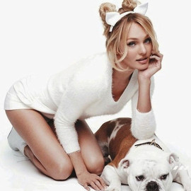 Candice Swanepoel - Dogs!!