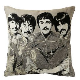 Andrew Martin - THE BEATLES COLLECTION CUSHION COVER B/W
