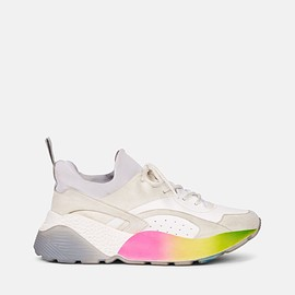 STELLA McCARTNEY - White Eclypse Rainbow Sneakers
