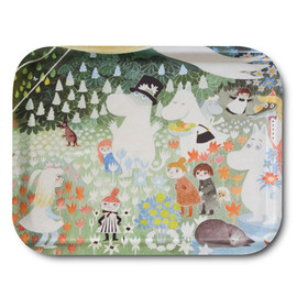 moomin - Dangerous Journey tray 43 x 33 cm