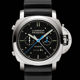 PANERAI - Panerai Luminor 1950 Rattrapante 8 Days Titanio Special Edition at werd.com