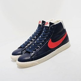 NIKE, Size? - Stussy Blazer Re-Issue? by Size? - Navy x Red