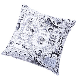 MEDICOM TOY - MLE FABRICK ドラえもんシリーズ SQUARE CUSHION COVER + PILLOW
