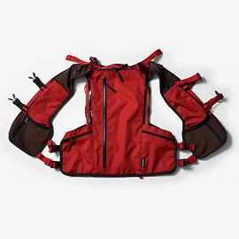 "Mountain Martial Arts - MMA Running Back-pack ""DUSTY SOLID"" (Red)"