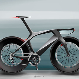 scott - Scott concept time trial bike by Julien Delcambre