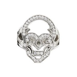 Justin Davis - HOLLOW SKULL Ring