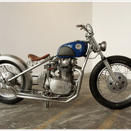 Yamaha - XS650 1977   'Escape Machine'