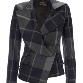 Vivienne Westwood - Grey/Blue Chevalier Jacket
