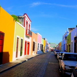 Campeche, Mexico - Campeche (歴史的要塞都市カンペチェ)/ 世界遺産