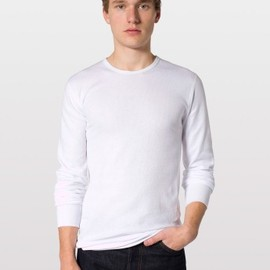 American Apparel - Baby Thermal Long Sleeve T-Shirt