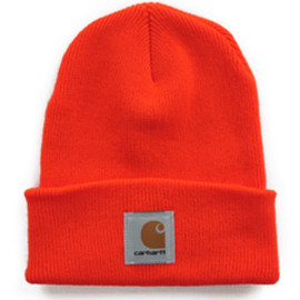 carhartt - Acylic Watch Hat (bright orange)