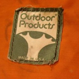 Outdoor Products - 70-80's Outdoor Products OLD LOGO GOODS