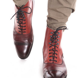 Edward Green - edward green for hardy amies SHANNON BROGUE BOOTS