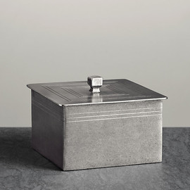 Restoration Hardware - Apothecary Pewter Accessories - Rectangle Box