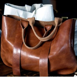 Clare Vivier - Cognac leather bag