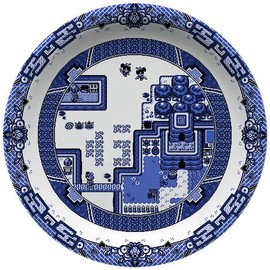 Olly Moss - Video game china pattern