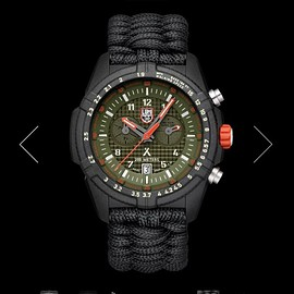 LUMINOX, Bear Grylls - Survival LAND Series 3798 - Black/Green