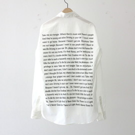 """DIGAWEL, Fellows - Shirts """"The Smiths / There is A Light That Never Goes Out"""""""
