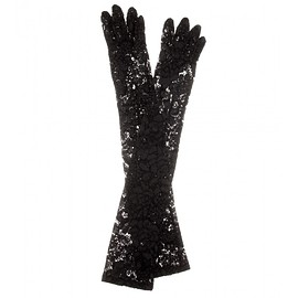 DOLCE&GABBANA - Lace gloves