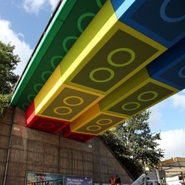 A Bridge/LEGO Street Art