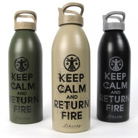 Soldier Sytems - Keep Calm and Return Fire Liberty Bottle 2.0