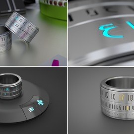Ring Clock: A Ring That Gives You Time On Your Hands