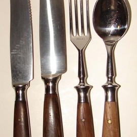 EICHENLAUB - KNIFE, FORK, SPOON OAK LEAF